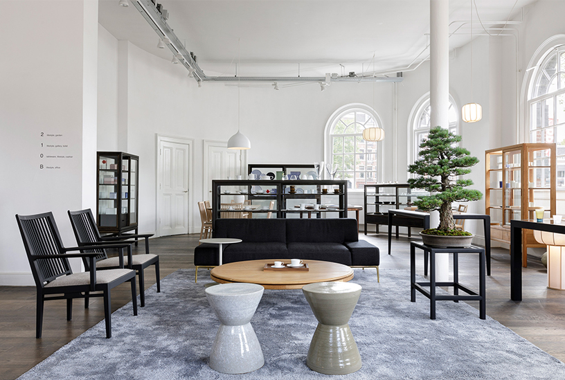 Furniture and interior at Time and Style in Amsterdam