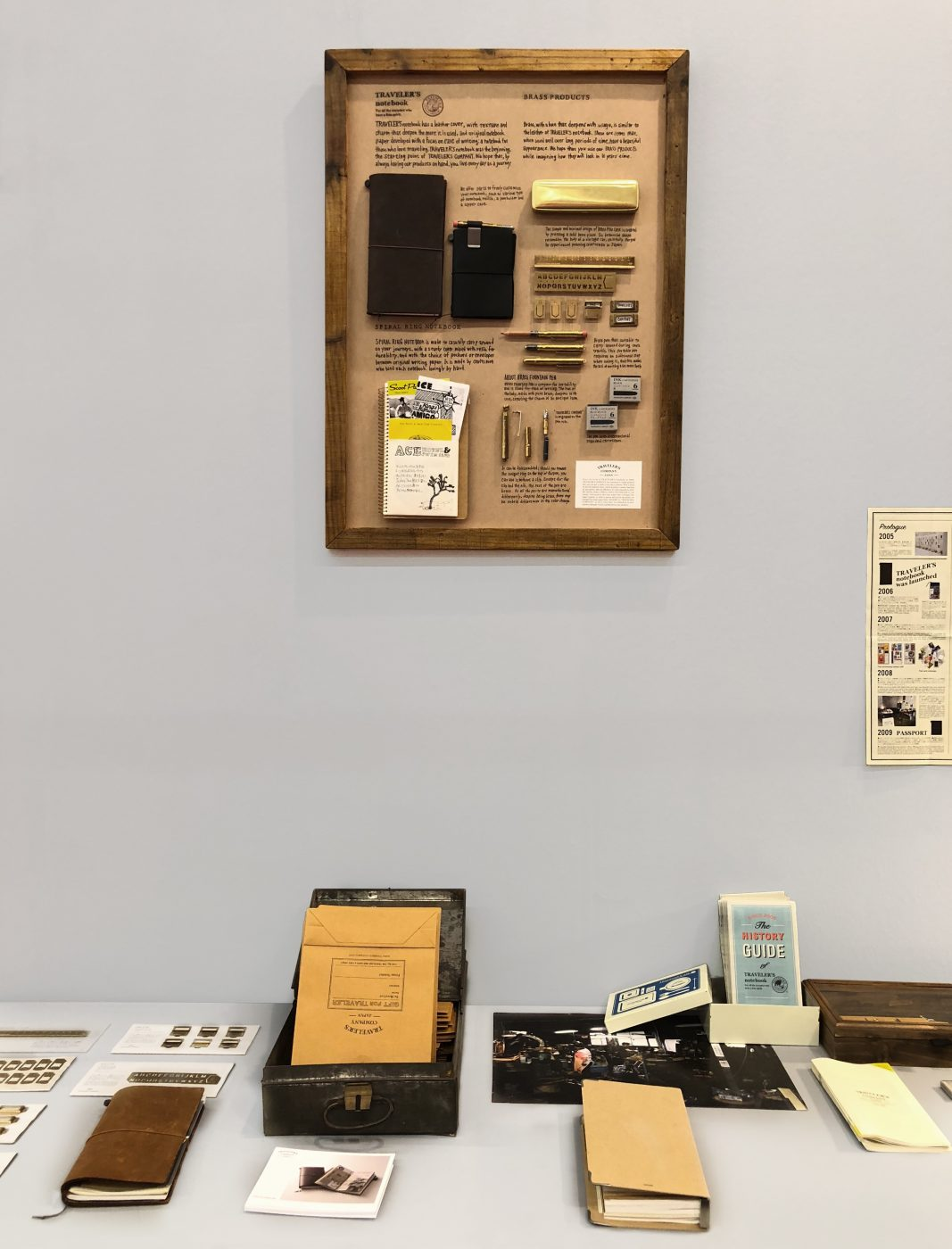 Stationery from Traveler's Company at Ambiente 2018