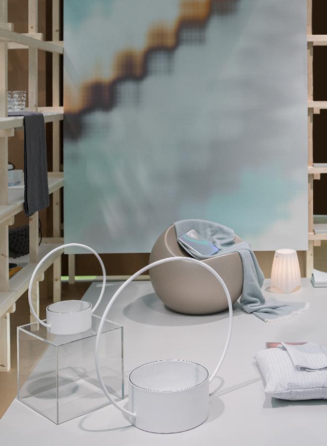 Perfekt Schalen Und Stuhl Von Xlboom, Plaid Von Eagle Products, Kissenbezug Von  Ekelund, Lampe Von Koziol