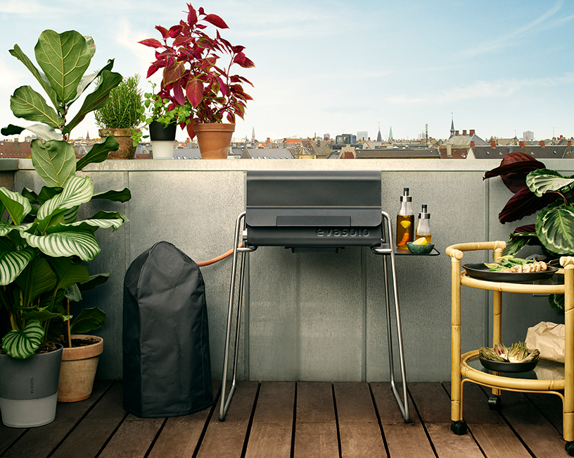 Box gas barbecue by Eva Solo for house and garden