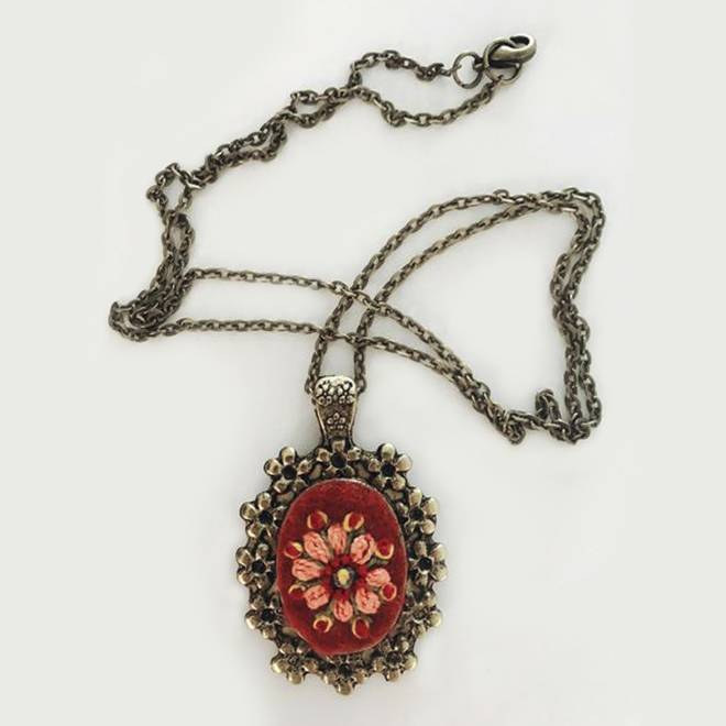 Slavic necklace by the Homeland Development Initiative Foundation (HDIF)