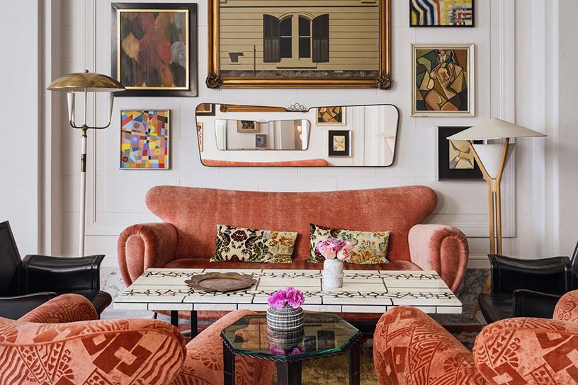 Interieur des San Francisco Proper Hotels, Design von Kelly Wearstler