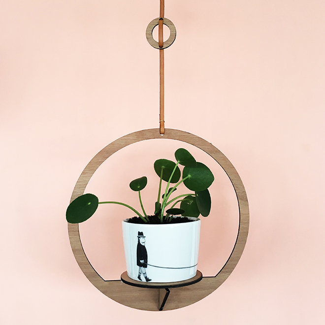 chinese happy tree in a hanging rack by All Things We Like