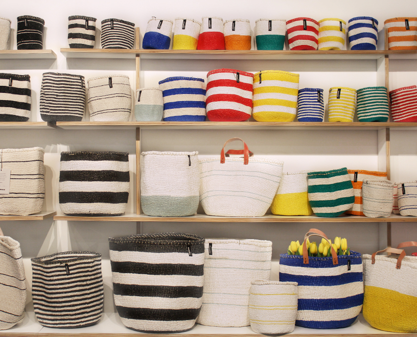 Baskets and bags from Mifuko at Ambiente 2018