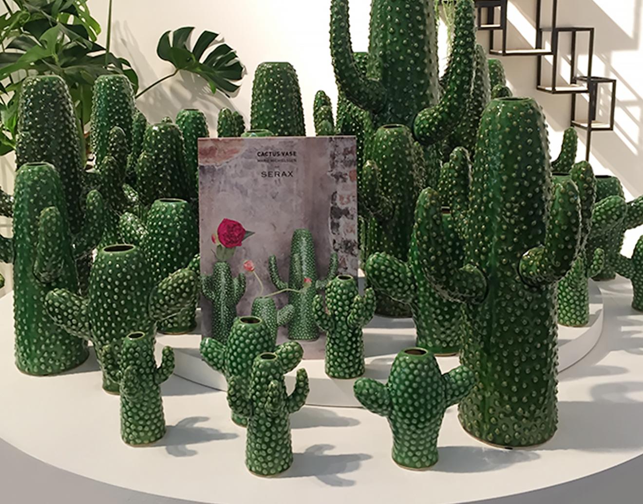 Kaktus-Vasen von Serax auf der Ambiente 2018
