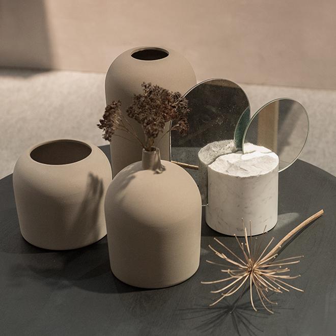 Vasen von Kristina Dam auf der Ambiente 2018